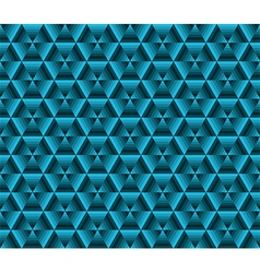 Abstrack color background blue triangles vector image vector image
