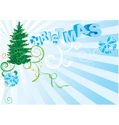 background for new year and for christmas vector image vector image