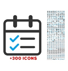 Day tasks icon vector