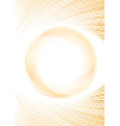 Geometrical background template - sunburst vector image vector image