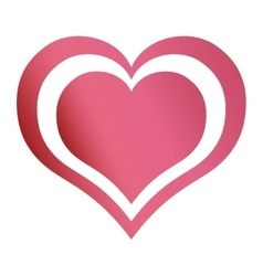 Hearts love emotion romantic passion design vector