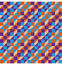 seamless geometric background vector image