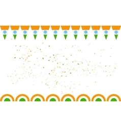 Tricolor india banner for sale and promotion vector