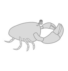 Sea food icon vector
