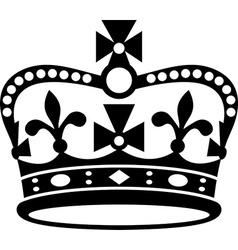 Crown of britain icon vector