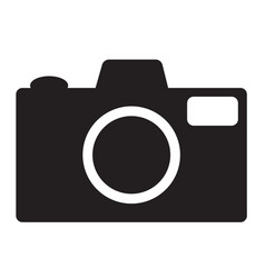 camera lens icon photography symbol vector image