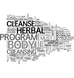 When you are ready to detoxify choose a herbal vector