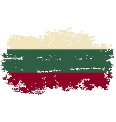 Bulgarian grunge flag vector