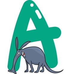 A for aardvark vector