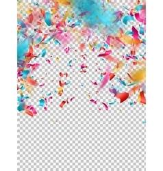 Colorful confetti EPS 10 vector image