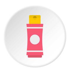 Deodorant icon circle vector