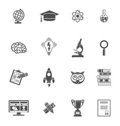 Education Icon Set vector image vector image