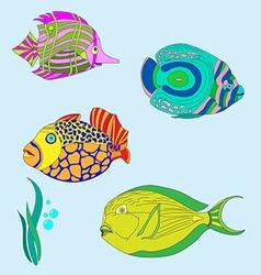 fish 3 vector image