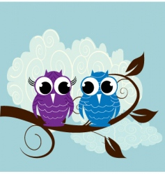nature birds vector image