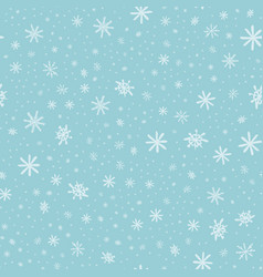 snowflake pattern - snowflake pattern each vector image vector image