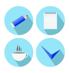 To-Do List Icons vector image vector image