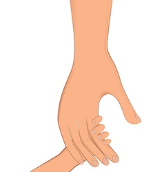 Hand real oneinone vector