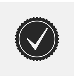 Check Mark Stamp vector image