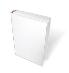white book vector image