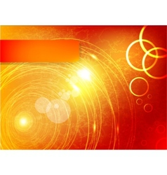 abstract circle and wave vector image