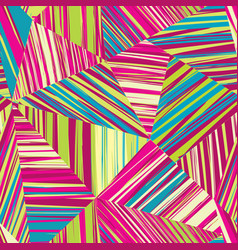 abstract geometric form seamless pattern stripe vector image