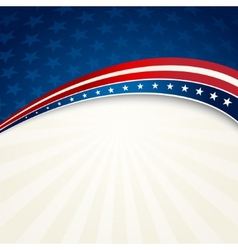 Independence day patriotic background vector
