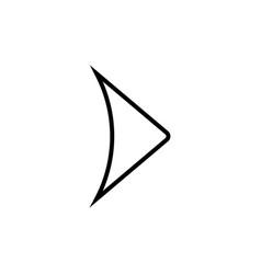 Next modern icon vector