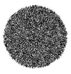 Black and white explosion background vector
