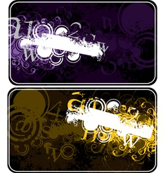 decorative compositions with figures vector image