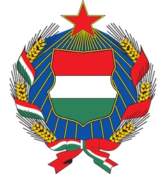 Hungary Coat-of-arms vector image