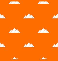 Pyramids in giza pattern seamless vector
