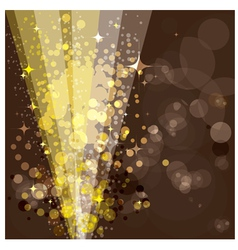 Festive background luminous rays vector