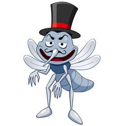 Mosquito vector image