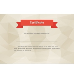 Certificate background vector