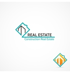 Construction real estate vector