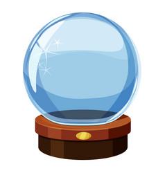 magic ball icon cartoon style vector image vector image
