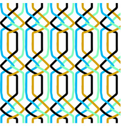 modern geometric patterns vector image vector image