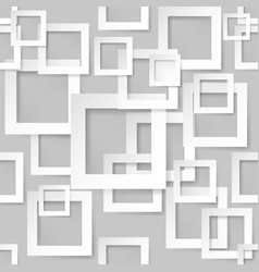 Seamless texture square for design on grey vector