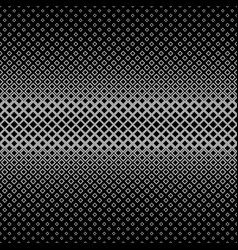 Symmetrical abstract halftone square pattern vector
