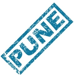 Pune rubber stamp vector
