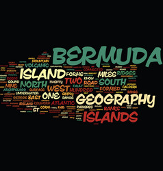 Bermuda government text background word cloud vector