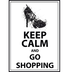 Fashion Woman shoe vector image
