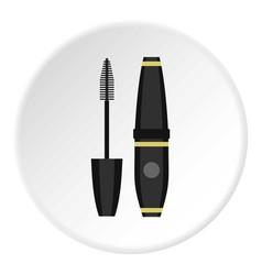 Mascara icon circle vector