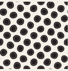 seamless freehand pattern abstract vector image vector image