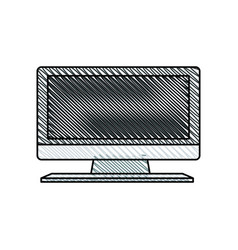 Television display plasma image vector