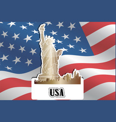 Usa united states of america vector