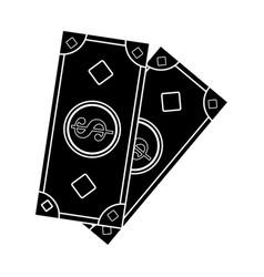cash money icon image vector image