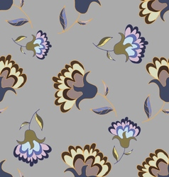 Beautiful pastel floral seamless pattern vector
