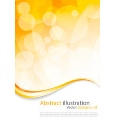 Abstract colorful circles vector design vector