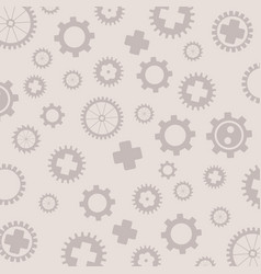 Background consisting of gears the concept of vector